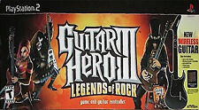 Guitar Hero Iii Legends Of Rock Sony Playstation 2 PS2 Complete Game Only