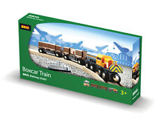 BRIO 33567 Boxcar Train - Railway Trains Age 3-5 years / 5 pcs New in Box