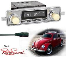 RetroSound 58-67 VW Bug/Beetle RC900c-2 Radio/3.5mm AUX-In for ipod/Push Button