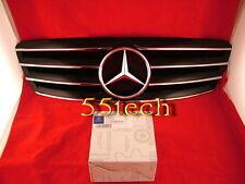 Mercedes Benz W203 Grill C230 C320 C240 Grille CL Style 01~07 4 fins Black SALE