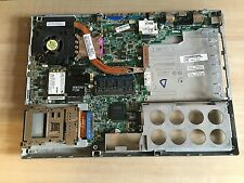 DELL LATTITUDE D830 SERIES GENUINE MOTHERBOARD + BASE + HEATSINK FAN  FAULTY