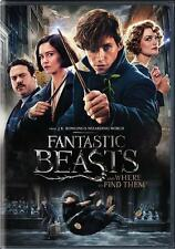 Fantastic Beasts and Where to Find Them (DVD 2016) NEW MOVIE*Fantasy* SHIP NOW