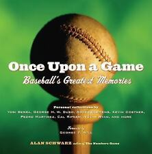 Once Upon a Game: Baseball's Greatest Memories-ExLibrary