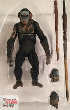 "KOBA 'WAR PAINT' Dawn Of The Plant Of The Apes NECA 2014 7"" Inch LOOSE FIGURE"