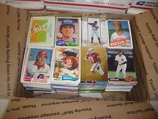 HUGE FLAT RATE SPORTS CARD BOX LOT INCLUDES JERSEY AUTO REFRACTOR SERIAL # PACKS