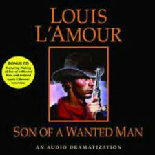 Louis L'Amour * SON OF A WANTED MAN * CD *NEW* FAST 1st Class Ship!