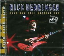 Rick Derringer Rock&Roll Hoochie Koo Live CD NEW SEALED