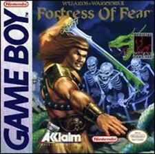 Fortress Of Fear Wizards And Warriors X Game Boy Color