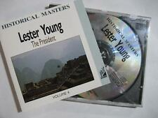 """LESTER YOUNG """"THE PRESIDENT VOL.4"""" - CD"""