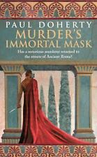 Murder's Immortal Mask (Ancient Rome Mysteries)-ExLibrary