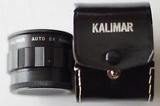 Convertisseur de focal kalimar.2x  M42  Pentax, canon, nikon etc