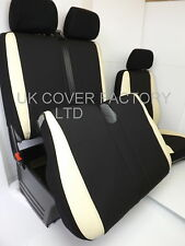 VW TRANSPORTER T5 VAN SEAT COVERS  CREAM SPORTS TRIM P50CRM IN STOCK!!!!