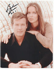 BARBARA BACH Signed 10x8 Photo THE SPY WHO LOVED ME James Bond 007 COA