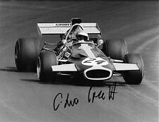 Chris Craft SIGNED 10x8  Ecurie Evergreen Brabham BT33 , US GP Watkins Glen 1971