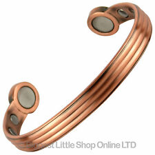 NEW Copper MAGNETIC BRACELETS with SUPER STRONG MAGNETS Health Strength