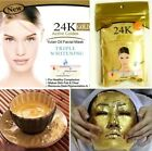 FD2599 New 24K GOLD Active Face Mask Powder Anti-Aging Luxury Spa Treatment 50g