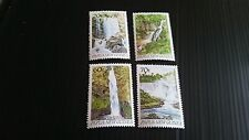 PAPUA NEW GUINEA  1990 SG 611-614 WATERFALLS  MNH