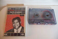 FATS DOMINO K7 AUDIO TAPE CASSETTE. THIS IS FATS DOMINO.IMPERIAL FRENCH