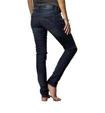 $89 Fox Racing Women's Snake Eyes Skinny Jeans Midnight Wash Size 7/28