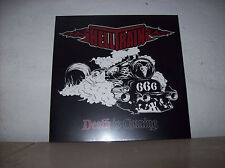 Helltrain - Death is Coming - LP - neu - Clear Vinyl - limited 100