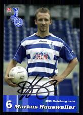 Markus Hausweiler MSV Duisburg 2005/06 TOP AK  + A 70662