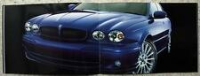 JAGUAR X TYPE INDIANAPOLIS Car Sales Brochure c2002