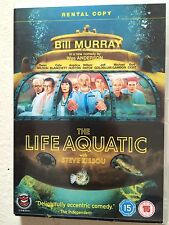 Bill Murray THE LIFE AQUATIC WITH STEVE ZISSOU ~ 2004 Wes Anderson UK DVD