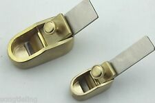 2 pcs various sizes Mini Brass planes woodworking planes, violin making tools