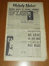 MELODY MAKER 1950 #887 AUG 5 JAZZ SWING FREDDIE GARDNER KAY HARDING FELIX KING