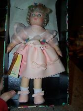 ALL ORIGINAL LENCI LORETTA PRESSED FELT DOLL WITH ORIGINAL BOX!!