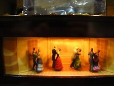 Mr. Christmas Musical Melodium Music Box Dancers 10 Songs NEW with Original Box