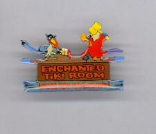 Disney Enchanted Tiki Room Under New Management Iago Zazu Aladdin Lion King Pin