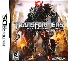 Transformers Dark of the Moon Decepticons G Nintendo DS DSI XL LITE 3 3DS 2 2DS