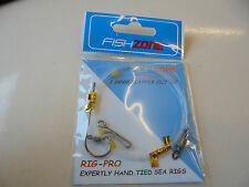 fishzone 1 hook flapper rig size 3/0.