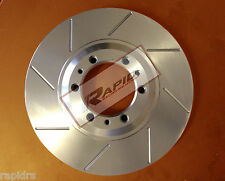 HOLDEN HSV VT-VZ,R8 MALOO DISC BRAKE ROTORS FRONT PAIR PERFORMANCE SLOTTED 330 m