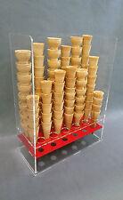 Espositore porta coni gelato 18 fori
