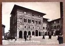 Volterra - palazzo della Cassa di Risparmio [grande, b/n, viaggiata]