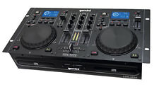 GEMINI cdm-4000 PROFESSIONAL DJ DOPPIO LETTORE CD MP3 USB DECK workstation CDJ