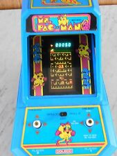 VINTAGE COLECO MS PAC MAN TABLE TOP ARCADE GAME TESTED AND WORKING GREAT SHAPE