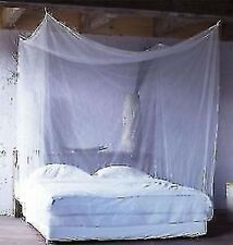 "AD8 8X6 (96""X72"") FEET KING SIZE Normal quality DOUBLE BED NYLON MOSQUITO NET"