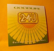 NEW Cardsleeve Single CD 2-4-U Featuring Stelio Goodlife 2TR 1998 Trance, House