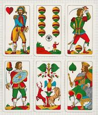 "MAZZO DI CARTE DA GIOCO / PLAYING CARDS ""SALZBURGER"" (ASS)"