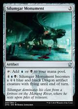 x4 Silumgar Monument MTG Dragons of Tarkir M/NM, English