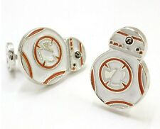 Silver Colour Star Wars BB8 Cufflinks BB-8 Cuff links BB 8 Robot High Quality