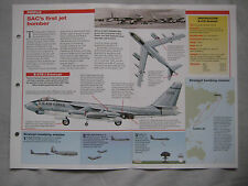 Aircraft of the World Card 66 , Group 7 - Boeing B-47 Stratojet, SAC Alert