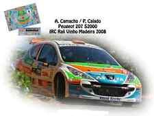 DECALS 1/43 PEUGEOT 207 S2000 - #16 CAMACHO - RALLYE IRC DE MADERE 2008- NCM021