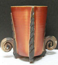 ALAN WILLOUGHBY WOODFIRED PORCELAIN VASE