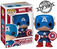 Captain America Marvel Comics 06 Funko Pop! Vinyl Figure Brand New