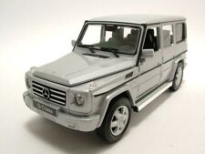 WELLY 1:24 2012 MERCEDES-BENZ G-CLASS G WAGON SUV DIECAST MODEL SILVER 24012W-SL