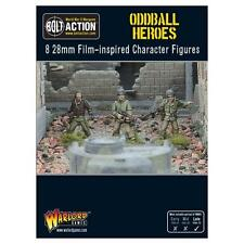 ODDBALL HEROES  - WARLORD GAMES - BOLT ACTION - USA - AMERICANS -
